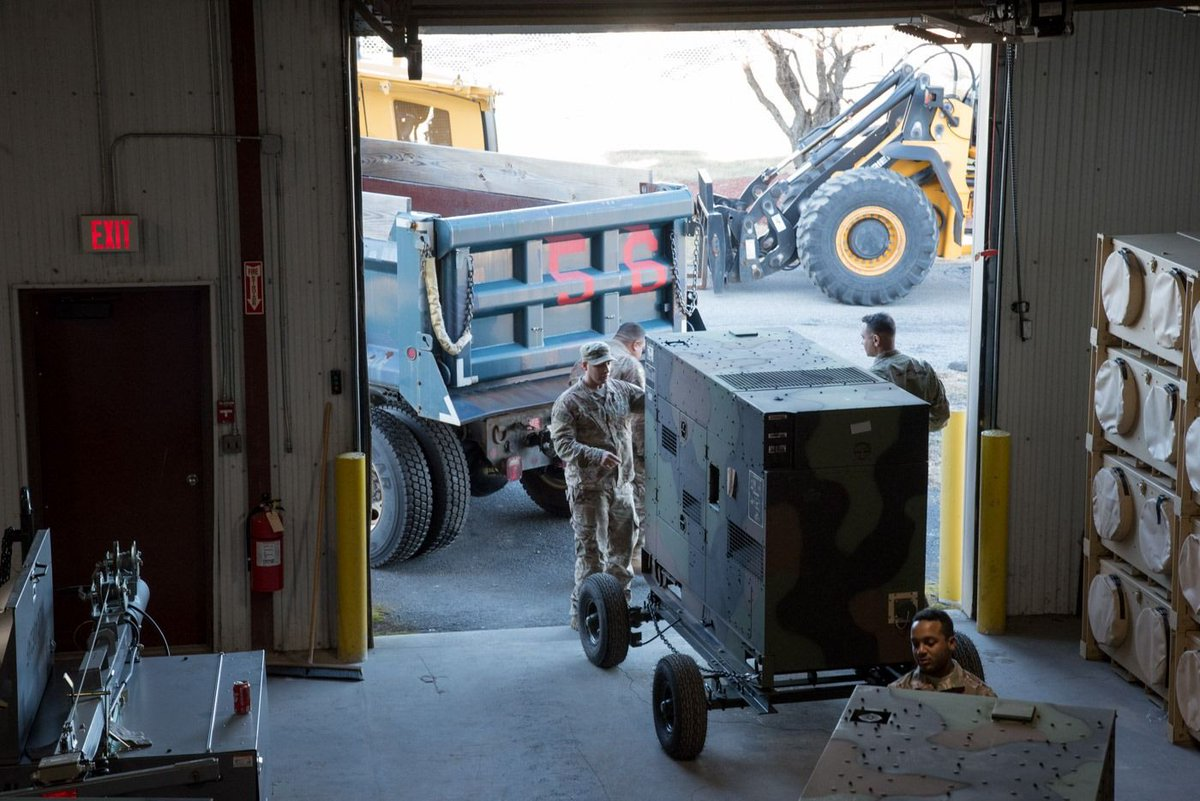 Air National Guardsmen from @105AW are on the ground in Puerto Rico with their counterpart, @PRNationalGuard, providing supplies, generators, and military personnel to support recovery efforts.