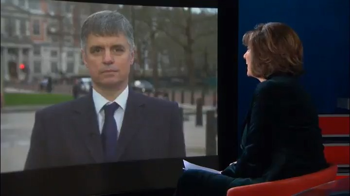 """Exclusive: I just spoke with Ukraine's Foreign Minister @VPrystaiko. When asked about Lev Parnas's claims, the FM says """"frankly, I don't trust any word [Parnas] is now saying."""""""