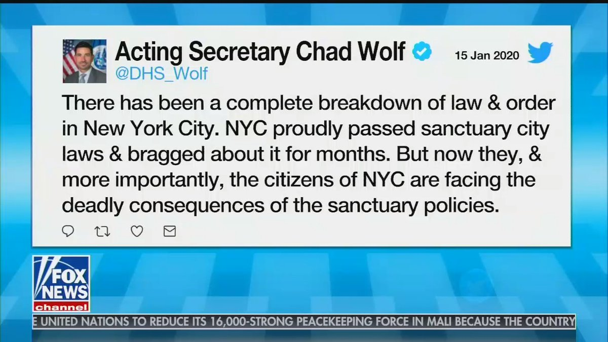 NARRATOR: There has not been a complete breakdown of law & order in New York City.