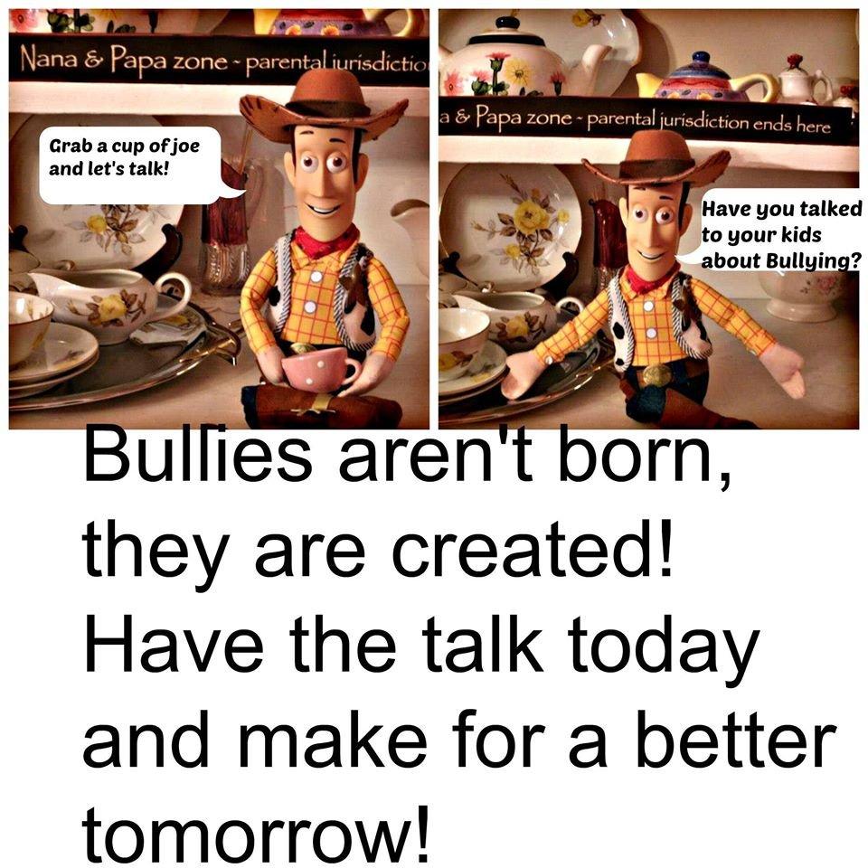 #bullies #stopbullying #BeKindToAllKinds  #kids #ParentingDoneRightpic.twitter.com/pK9mFdv1Vw