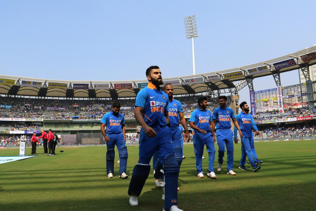 Skipper Virat Kohli, Rohit Sharma, and Jasprit Bumrah receive BCCIs grade A+ central contract for 2019-20. MS Dhoni has been left out of the annual contract list.