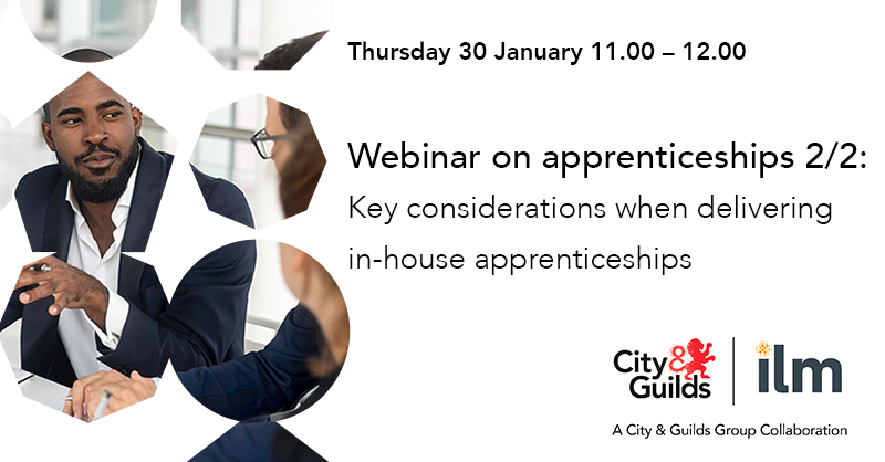 Join part two of our webinar series on, Key considerations when delivering in-house apprenticeships, hosted by Strategic Commercial Manager @Gibson1Paula and Stakeholder Partnerships and Policy Manager @BryonyKingsland Register your free place here: direc.to/dRB3