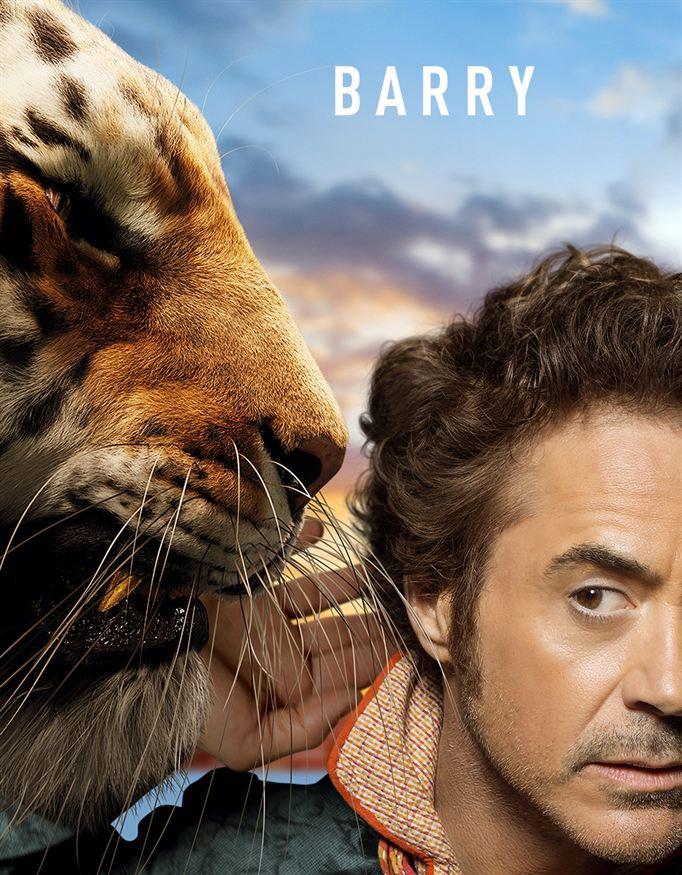 Robert Downey Jr. te presenta en EXCLUSIVA al feroz tigre Barry de #LasAventurasDelDoctorDolittle. ¡Estreno en cines el próximo 24 de enero! @Universal_Spain https://t.co/ZLi5PS5CPA https://t.co/cdm9MR3TzM