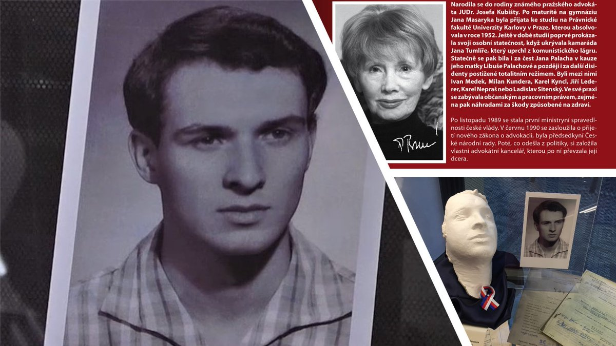 test Twitter Media - Dnes uplynulo5⃣1⃣ let od hrdinského činu #JanPalach (https://t.co/GKmTKJ2dqX). Přijďte jeho památku uctít na výstavu #Advokatiprotitotalite @CAK_cz . Dozvíte se více  i o advokátce Dagmar Burešové, která se bila za čest Jana Palacha i celé jeho rodiny. https://t.co/EiuOrzAsvc https://t.co/VIqM6p20No