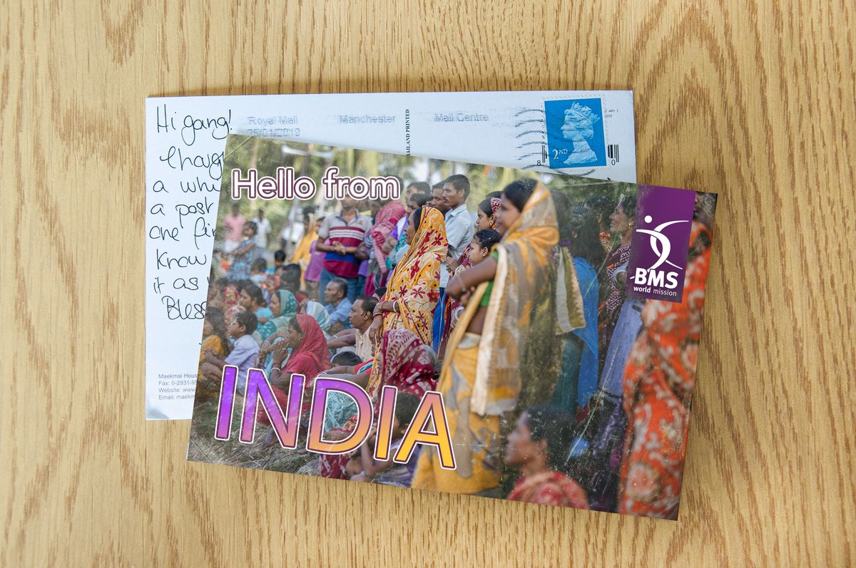 test Twitter Media - ✨YAY! We have a postcard from India! ✨Benjamin Francis is our team leader in India, he heads up an incredible discipleship movement that reaches the least evangelised communities in India.Read Benjamin's latest update here https://t.co/ONFJF0XEn0✉✏ https://t.co/8x1c9vFjkx