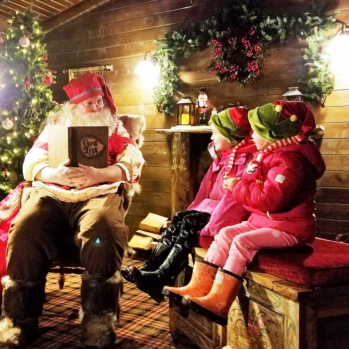 """AD   """"Come closer - I have a little secret to tell you - there is an enchanted door known only to fairy folk. I know for I have been..."""" - a magical experience from start to finish #laplanduk #ChristmasIsComing http://bit.ly/2AQmc6Tpic.twitter.com/mipoBEx8OQ"""