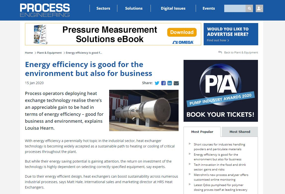 test Twitter Media - Energy efficiency is good for the environment but also for business. Read more @PE_Mag where it featured HRS Heat Exchangers: https://t.co/UyiSkWcK7i #energyefficiency #heatexchangers https://t.co/oCi60L9siq