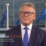 Image for the Tweet beginning: Thank you Commissioner @NicolasSchmitEU for