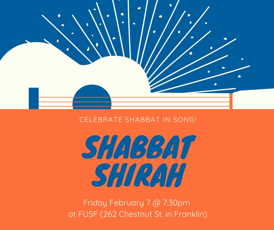 Temple Etz Chaim will hold Shabbat Shirah - Feb 7