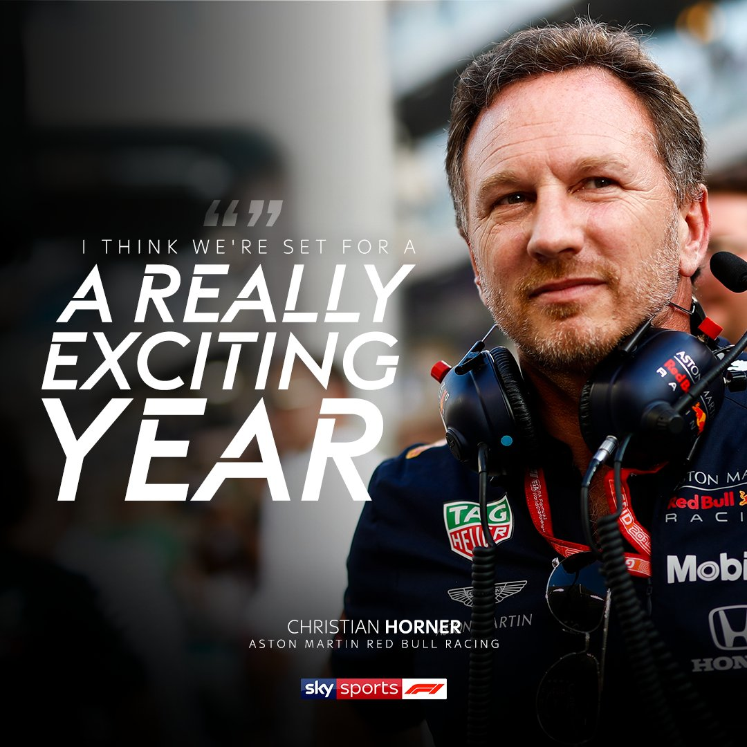 "Christian Horner says only someone ""pulling a rabbit out of a hat"" can stop @redbullracing, @MercedesAMGF1 @ScuderiaFerrari from delivering a classic 2020 season.  🐇🎩  #SkyF1 