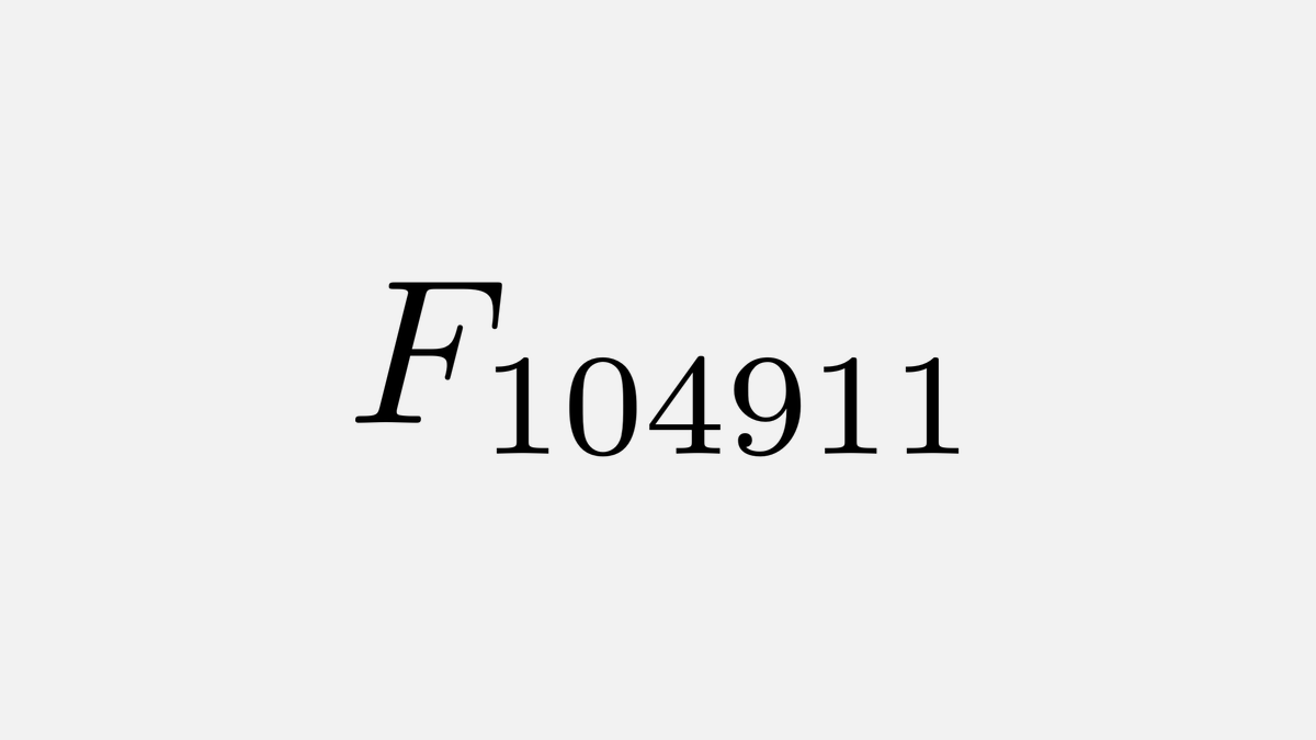This is the largest known Fibonacci number thats also prime, which is 21925 digits long and was proved prime by Mathew Steine and Bouk de Water in 2015.