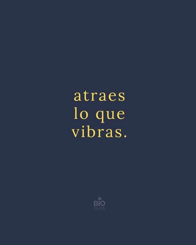 """Muy buenos días  """"atraes lo que vibras"""" #LeyDeLaAtraccion #PensamientosPositivospic.twitter.com/NwxJNcreab"""