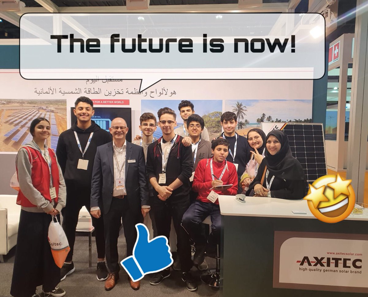 #worldfutureenergysummit was once again a great Show  thank you  from your #AXITEC team #solarpanels #RenewableEnergypic.twitter.com/I21pZeEjkd – at ADENC