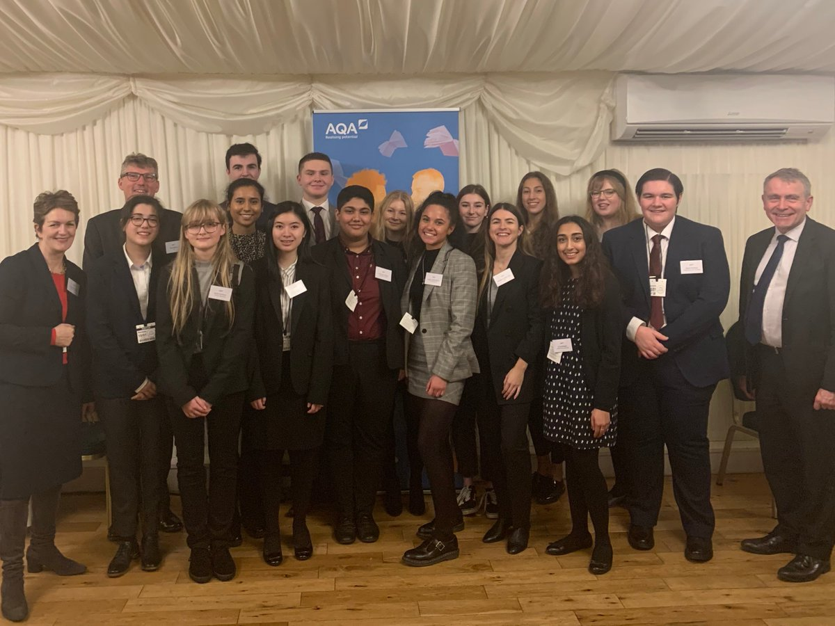 Last night we launched our new Student Advisory Group at a parliamentary reception. Theyll provide our Board of Trustees with a young person's perspective on key areas of assessment, such as the use of technology and the design of question papers. More > bit.ly/2TuOPD4