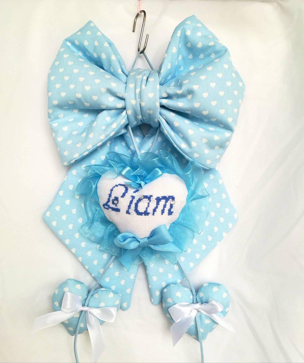 Sono felice di condividere l'ultimo arrivato nel mio negozio #etsy: Fiocco nascita fatto a mano con ricamo personalizzato coccarda nascita bambino classico maschietto https://etsy.me/2FYoS6wpic.twitter.com/QPnBdaBpRe