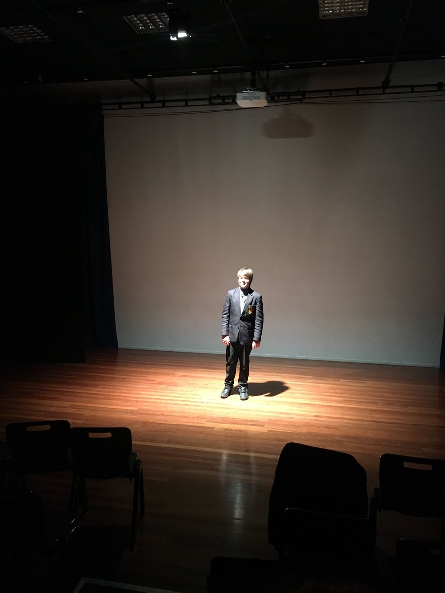Year 9 are on week 2 of their 'Designing for Theatre' big idea. Today they were given a crash course in lighting so they can tell their parcan from their fresnel #DramaTwitter #lightingdesign<br>http://pic.twitter.com/DPXkIzpAkX