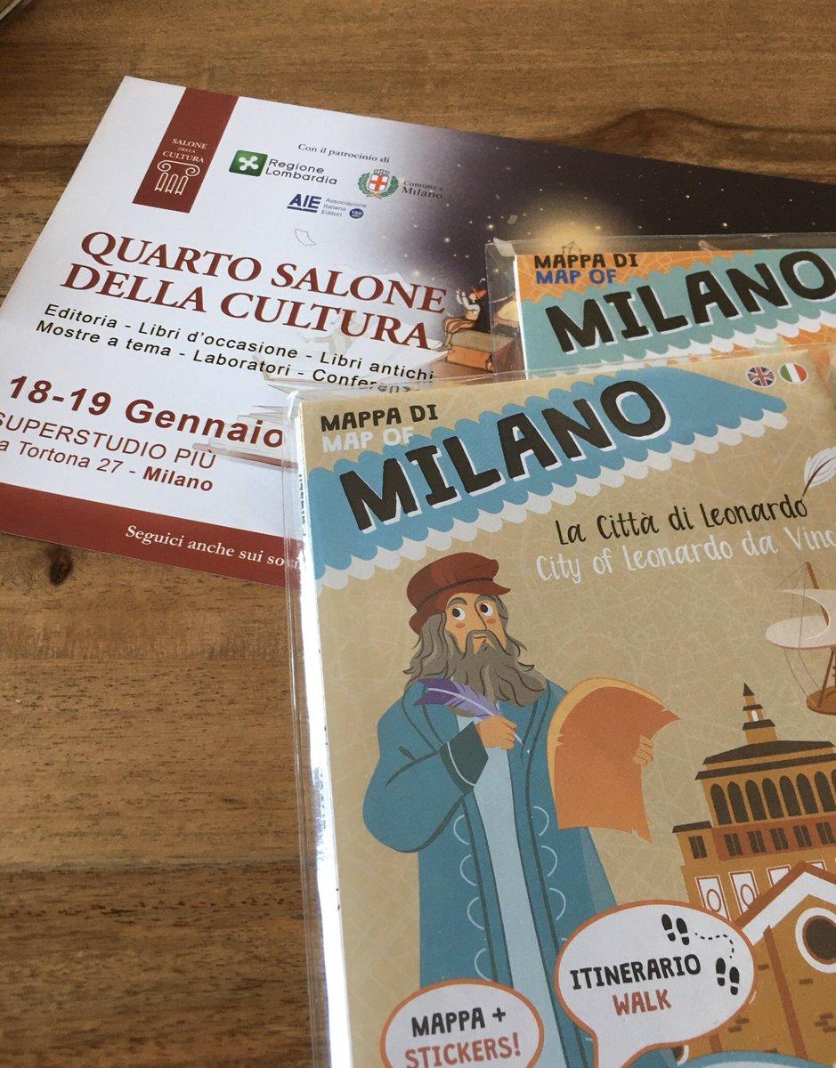 test Twitter Media - 18-19 gennaio Vediamoci al #salone della Cultura a #Milano presso Superstudio Più in via Tortona 27. Noi saremo al tavolo T05! #cultura #libri #kids #mappe #Italia #stickers https://t.co/LSTDXl7Z3J
