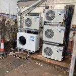Image for the Tweet beginning: Installation of Arneg Refrigeration at