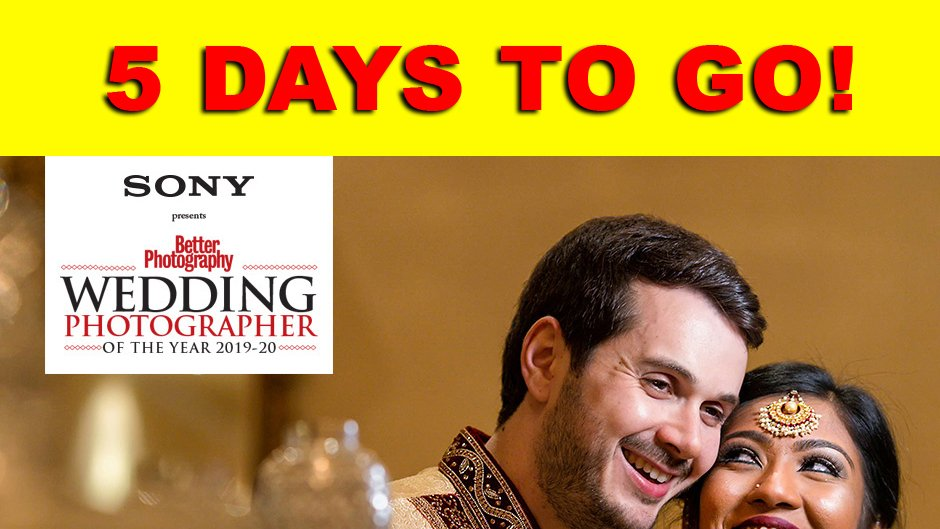 HURRY UP! 5 DAYS TO GO!!Wedding Photographer of the Year 2019-20Participate Now & Win Prices worth 10Lakh+https://bit.ly/2Tr6hIkPresenting Partner @sony_indiaAssociate Partners @LaCieTech @photoquipindia Gudsen MOZAPhotograph by @anirbanbrahma#WPOY2020