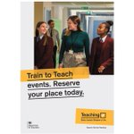Image for the Tweet beginning: #TraintoTeach event today at Park