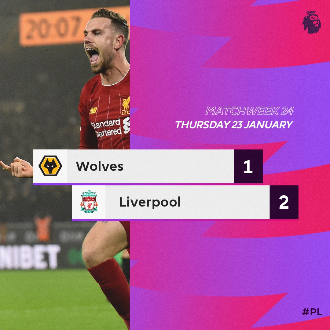 #PL wins in a row  #WOLLIV<br>http://pic.twitter.com/AoMOkcdTPl