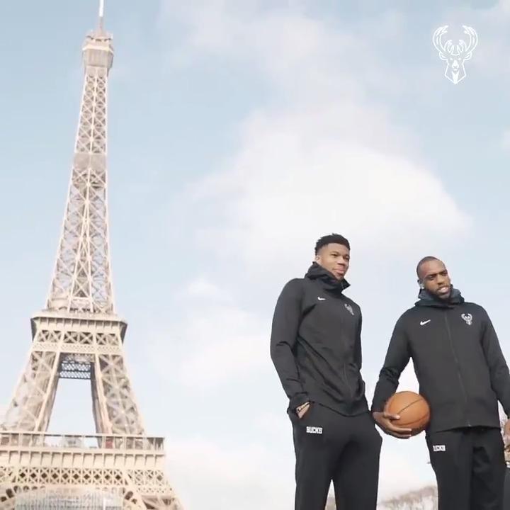 #NBAParis picture day 📸