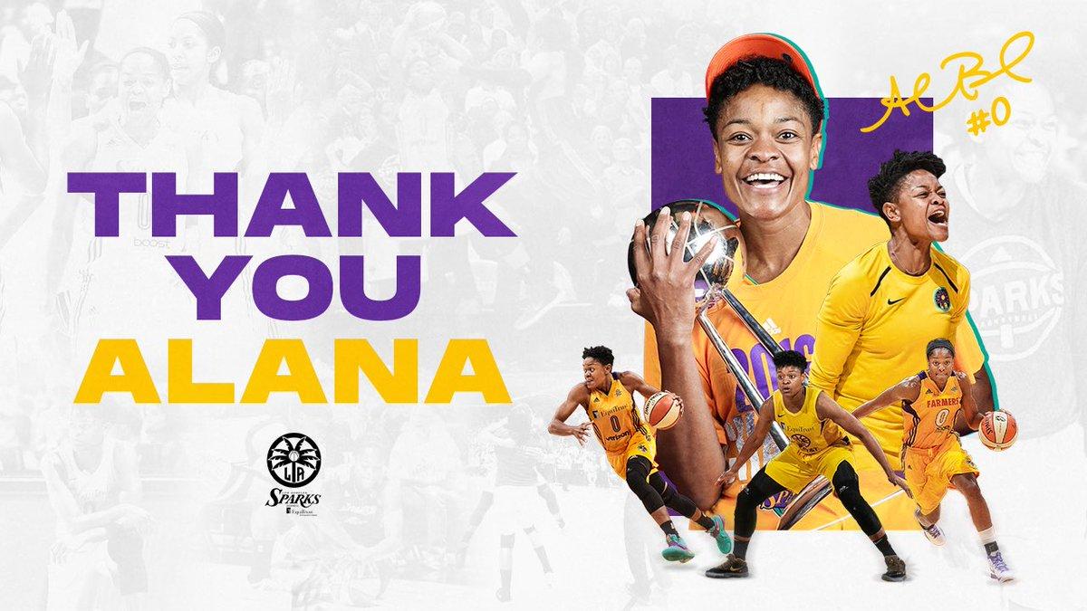 Alana Beard announces her retirement. #ThankYouAlana Full Release » on.nba.com/30ObCel