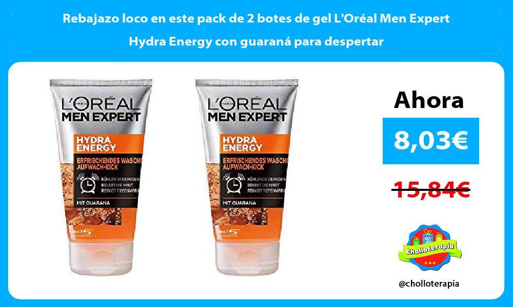 🔥⭐️【NUEVO CHOLLO】⭐️🔥🚀 Rebajazo loco en este pack de 2 botes de gel L'Oréal Men Expert Hydra Energy con guaraná para despertar #Amazon✅ Enlace a la oferta: https://cholloterapia.com/rebajazo-loco-en-este-pack-de-2-botes-de-gel-loreal-men-expert-hydra-energy-con-guarana-para-despertar/…