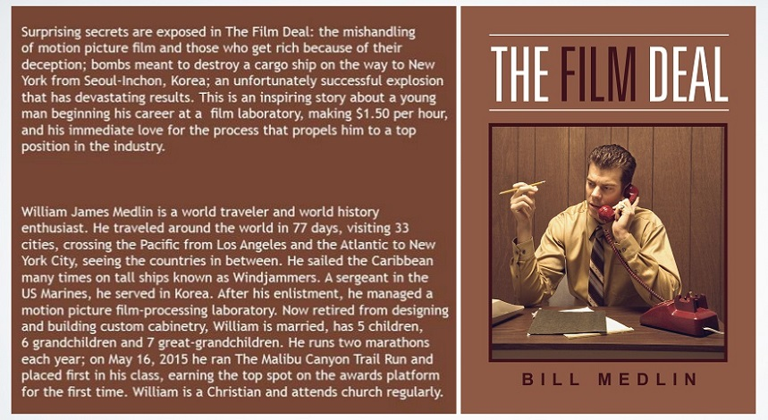 Surprising secrets are exposed in The Film Deal: the mishandling of motion picture film and those who get rich because of their deception.Paperback and #Kindle at #Amazonhttp://Amazon.com/dp/B071KZ5WB#amreading #readers @Stream25Bill #filmindustry#readerscommunity #readingcommunity