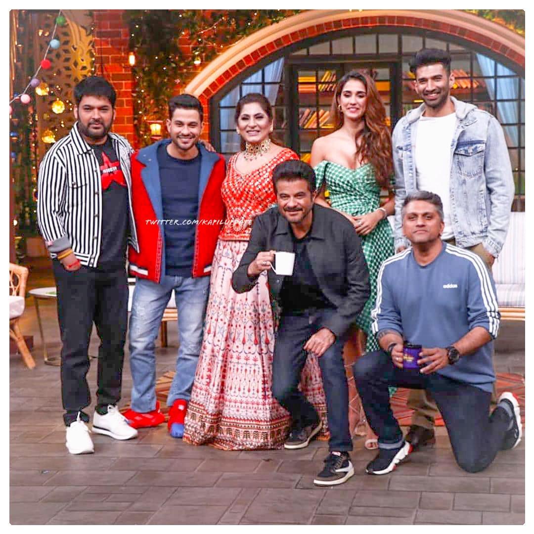 Star cast of #Malang on tkss !! <br>http://pic.twitter.com/fr1rU0Plxu