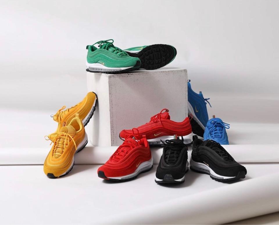"Nike Air Max 97 QS ""Olympic Rings"""