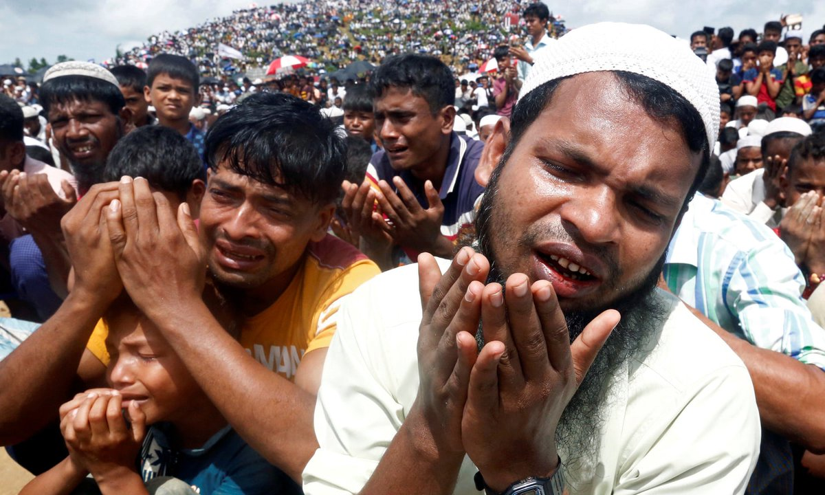 The UN's top court is ordering Myanmar to protect #Rohingya Muslims.  Read more: https://www.theguardian.com/world/2020/jan/23/international-court-to-rule-on-rohingya-genocide-safeguards…