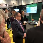 In advance of his remarks to NAHB Leadership Council, and an announcement on #WOTUS, @EPAAWheeler toured the #IBS2020 show floor, including the High Performance Building Zone, and met some great exhibitors.