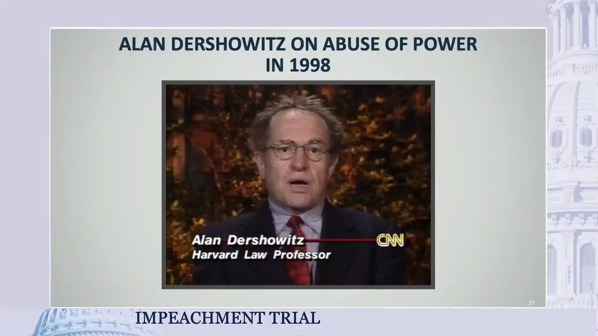 Bipartisan legal scholars agree:  Abuse of power is a high crime and misdemeanor. Abuse of power is an impeachable offense.  In fact, even President Trump's lawyer agrees - or at least he did in 1998.