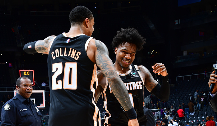 """""""They won it, in large part, because the team brought a overwhelming amount of get-up-and-go to their second-half performance.""""   @KLChouinard on last night's win: https://on.nba.com/38zn68g"""