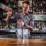Hey Hugo, whatchya making? . . . #keeferbar #cocktail #cocktailbar #latenight #bartender #vancouver #imbibegram #topbars #cocktails #thirsty #mixeddrink #cocktailgram #cheers #cocktailoftheday #drinkoftheday #cocktailhour