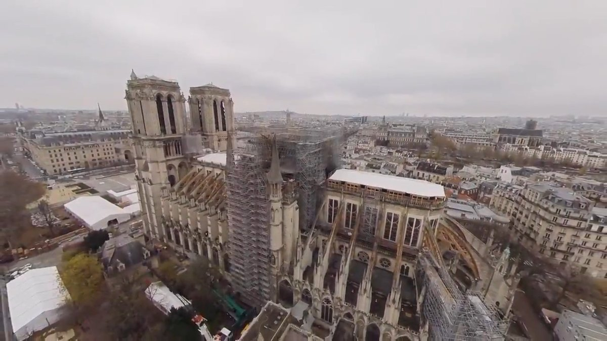 Step inside a historic landmark with 'Rebuilding Notre Dame,' a new VR documentary by @targostories and @oculus