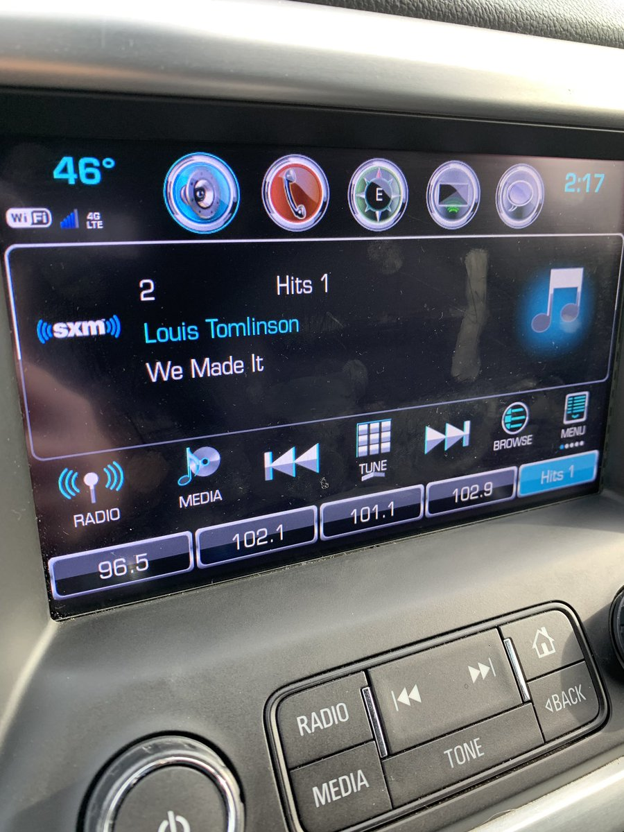 Thanks @SiriusXMHits1 @spyderharrison for playing We Made It by @Louis_Tomlinson !!
