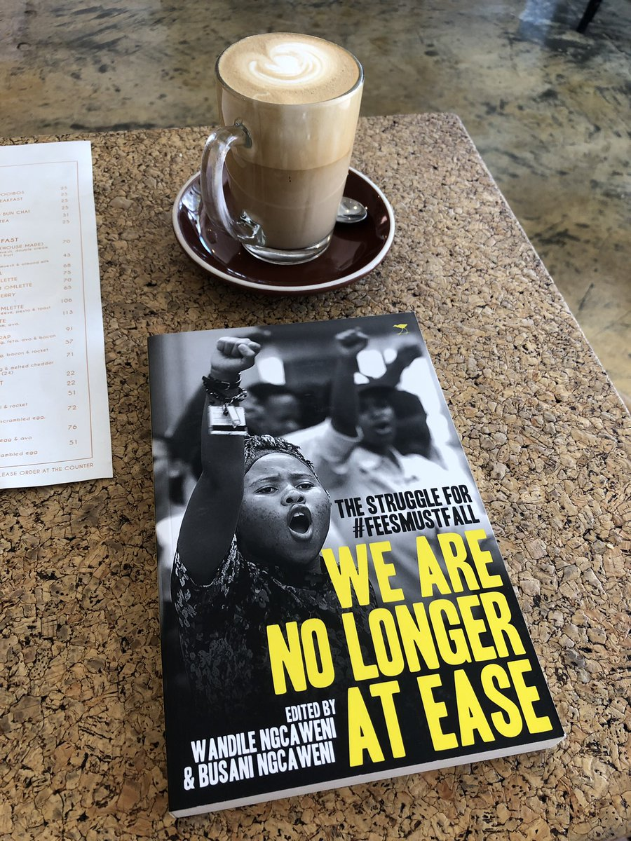 I can really recommend it. Great insight and thoughts around the FeesMustFall Movement <br>http://pic.twitter.com/ZW626b7e7m
