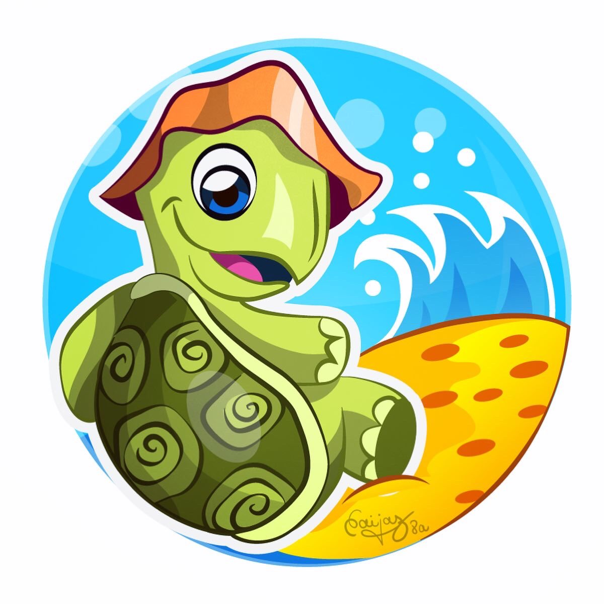 Turtle Summer  . #illustration #illustrator #illustrationagency #stickers #stickerart #sticker #characterdesign #characterillustration #childrensbooks #childrensbookillustration #childrensillustration #cute #cuteanimals #turtle #tortoise #tortuga #cuteillustrationpic.twitter.com/vrc93bO56G