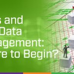 Image for the Tweet beginning: Value-generating data management starts with