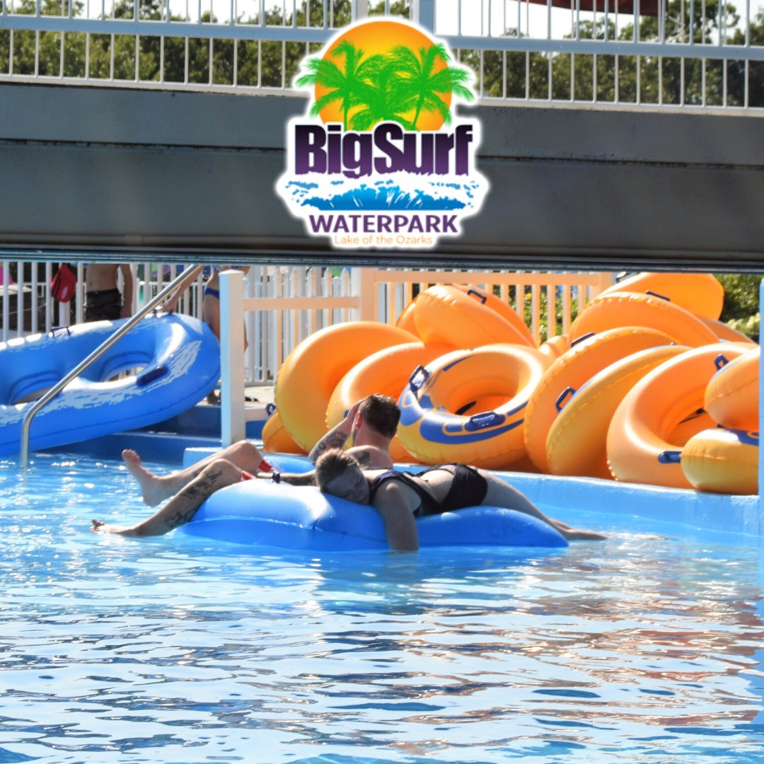 𝘈𝘏𝘏𝘏𝘏𝘏!  That feeling of the sun beating down while floating around the lazy river...  We thought you may have needed a warm though this cold, snowy day!http://www.BigSurfWaterpark.com #BigSurf #BigSurfattheLake #LakeoftheOzarks #Waterpark #TBT #FamilyFun #Summerpic.twitter.com/88kY3xoZ4j