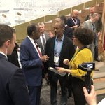 After addressing the NAHB Leadership Council, including an announcement on an #opportunityzones pilot for small businesses, @SecretaryCarson toured the show floor at #IBS2020 and took in some outside exhibits in the Show Village.