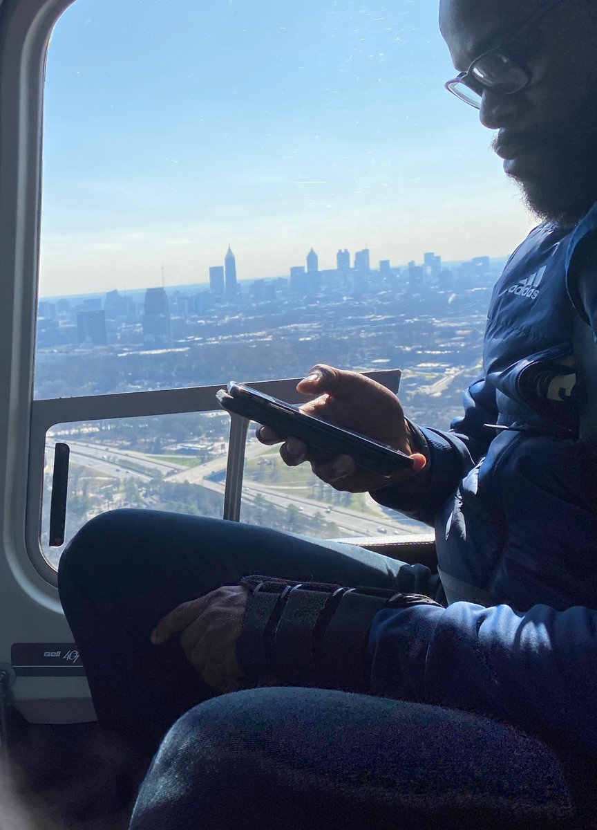 ATL Living.....#404theCulture 🚁 📸 Cred: @CoachCollins