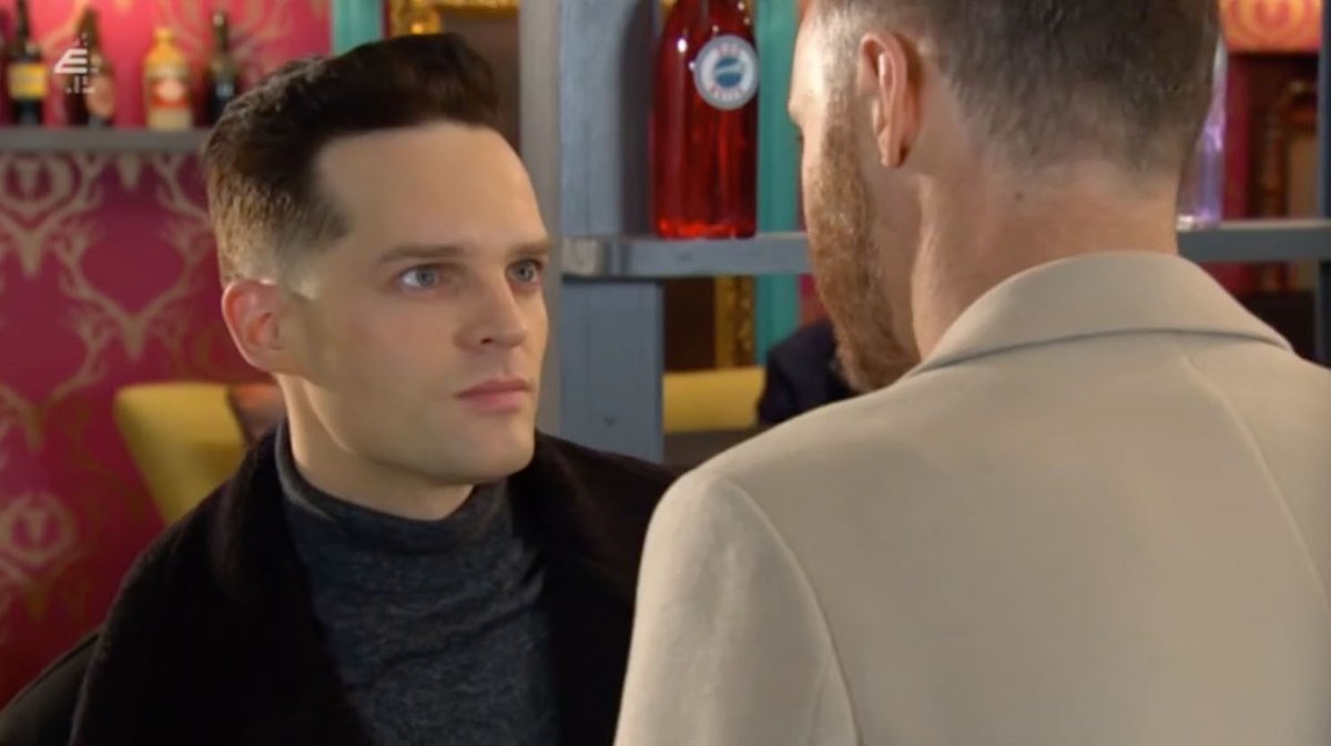 James Nightingale (and Liam Donovan) stills from todays First Look. Pt. V. #Hollyoaks