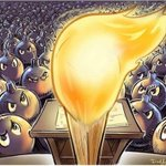 Image for the Tweet beginning: Trump is the toxic match