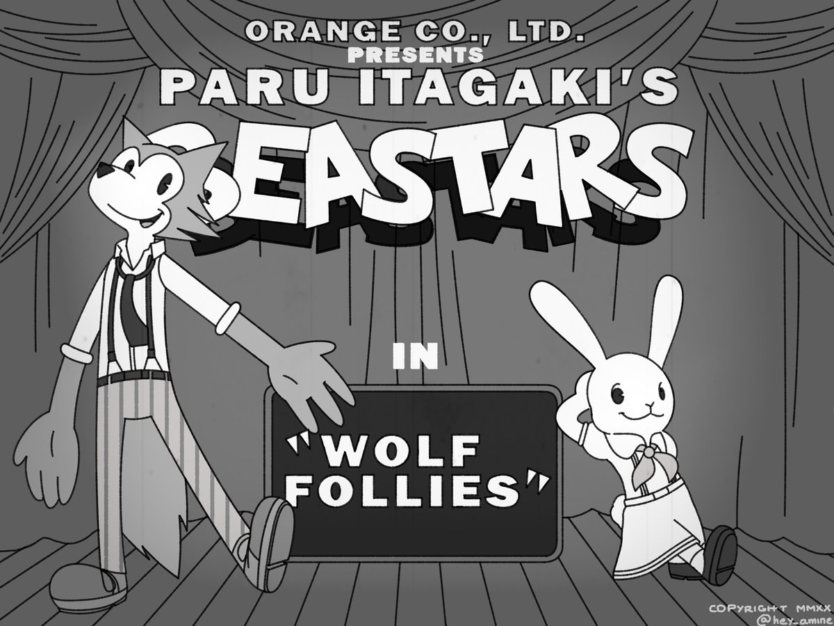 #BEASTARS but it's a classic cartoon from the 30's <br>http://pic.twitter.com/OPyV7EXfiT