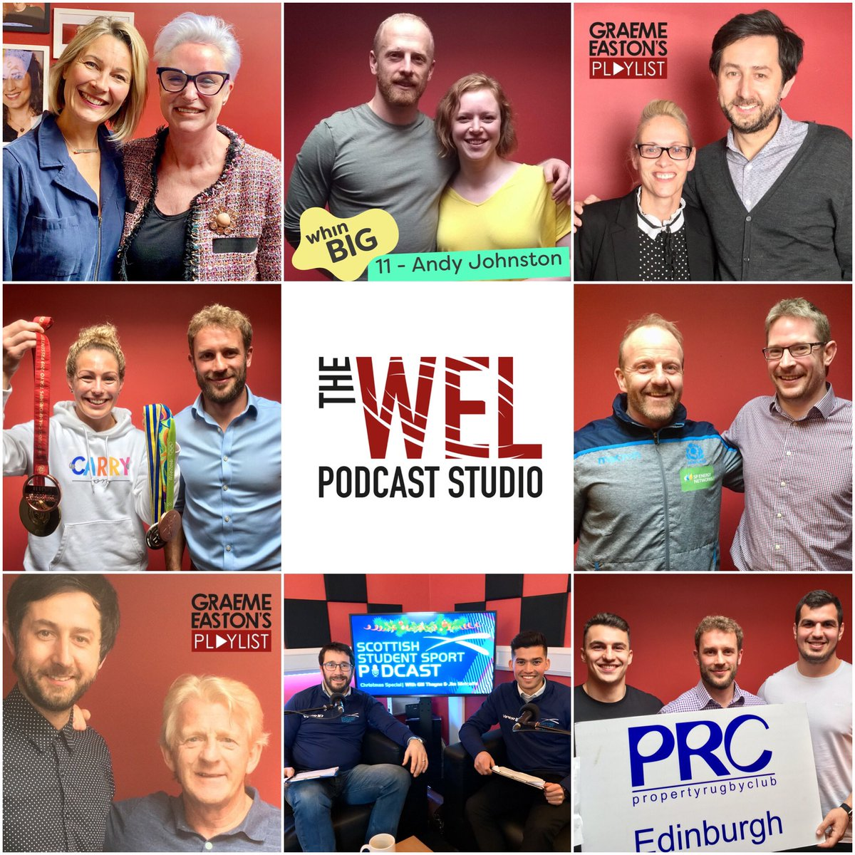 We're very proud of the Podcast Community that is growing out of our Edinburgh studio.   Many fascinating guests have graced our sofas.   Join them.  http://www.thewel.co.uk  #podcaststudio  #Edinburgh  #BeHeard #podcast  #podcaster  #ScotlandIsNow #podcastcommunity pic.twitter.com/brPGJ2FsN8