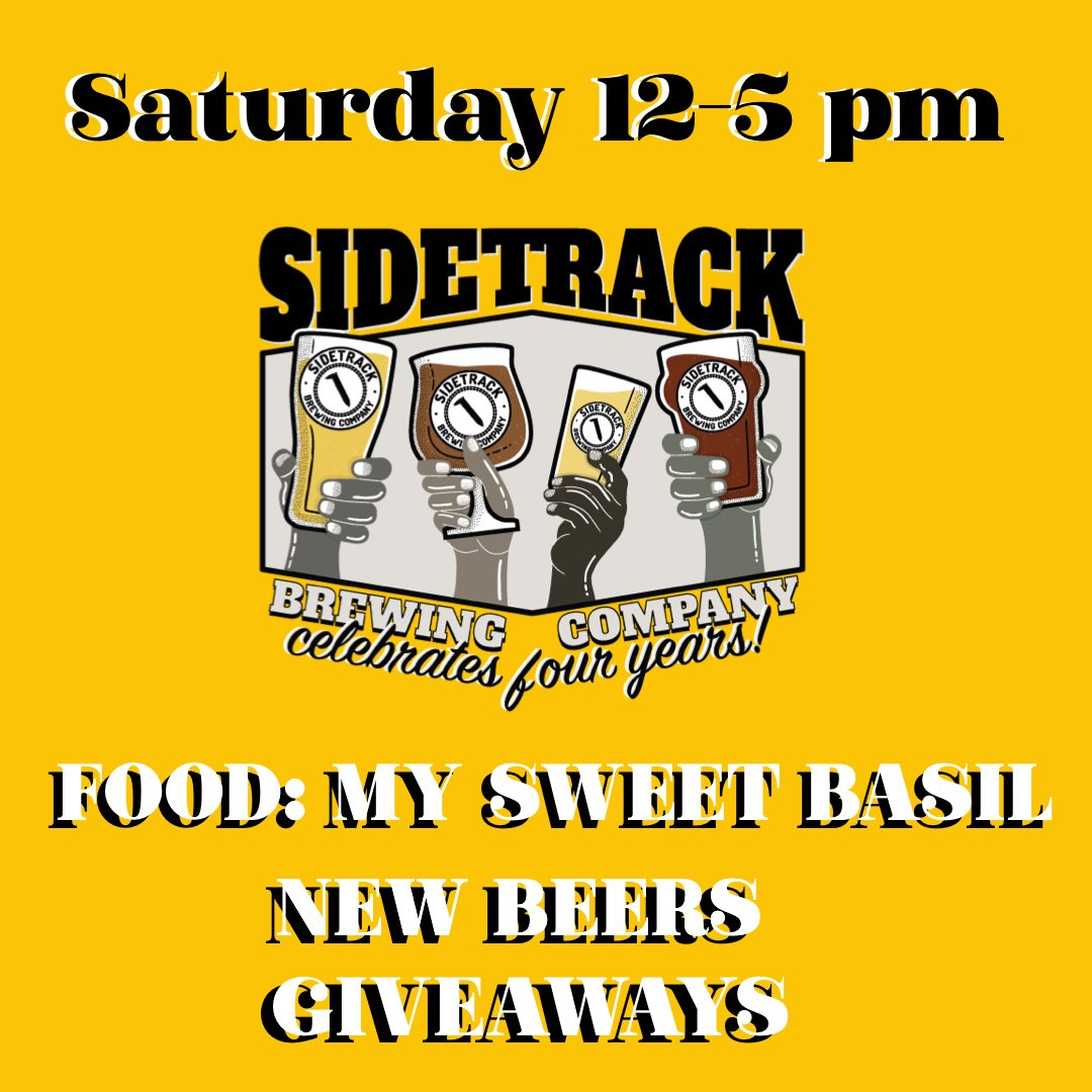 Celebrate with us on Saturday with @mysweetbasil505, new beers and giveaways. https://t.co/qRd7UUAzLC
