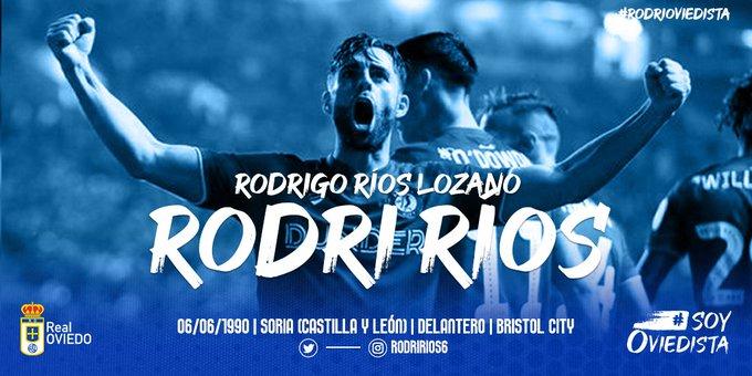 Rodri Ríos, nuevo jugador del Real Oviedo.